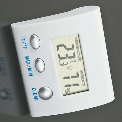 LCD Digital Thermometer Hygrometer Humidity Temperature Meter Indoor Home OG