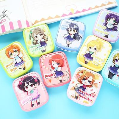 2016 Lovelive Fashion New Contact Lenses Box Partner Box Nursing Box Cosplay 1pc