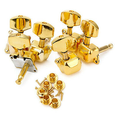 Acoustic Guitar String Semiclosed Tuning Pegs Tuners Keys Machine Heads 3L3R New