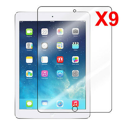 Apple iPad Mini 2 with Retina Display 2nd Premium HD Clear Screen Protector-9pcs