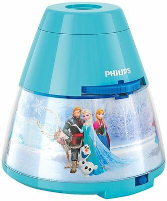 Frozen Night Light Children's Lamp and Projector Kids Room 24 Frozen Scenes