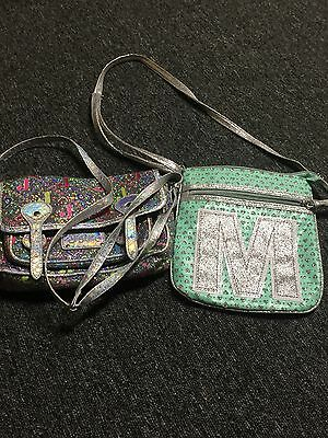 Lot of 2 Justice Girls Purses - 1 NWOT