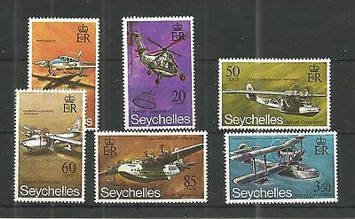 Seychelles 1971 Airport Completion Sg,294-299 Um/m Nh Lot 355A