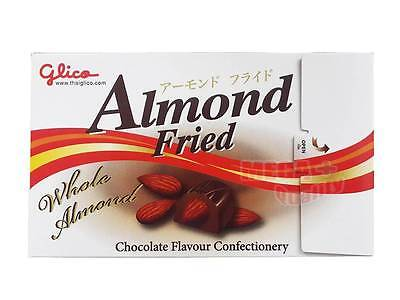 Glico Almond Fried Whole Almond - Chocolate Flavour Confecttionary Snacks 56g
