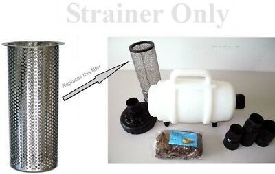 "Carpet Cleaning Mytee Lint Hog - STRAINER 2"" Hose Connect"