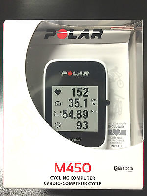 Polar M450 GPS Cycling Computer with HR
