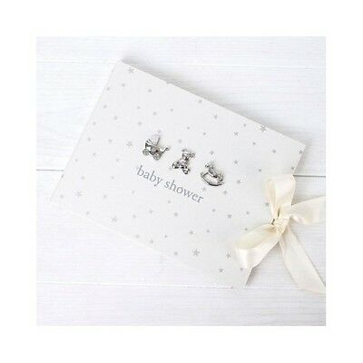 Baby Shower Guest Book Bambino Boy Girl  40 Lined Sheets