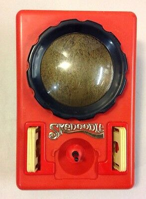 Vintage 1979 Hasbro SKEDOODLE Etch-A-Sketch Drawing Toy Templates Hasbro