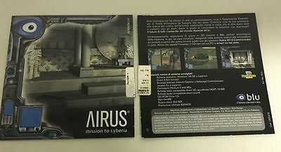 CD ROM BLU Airus mission to cyberia (CD)