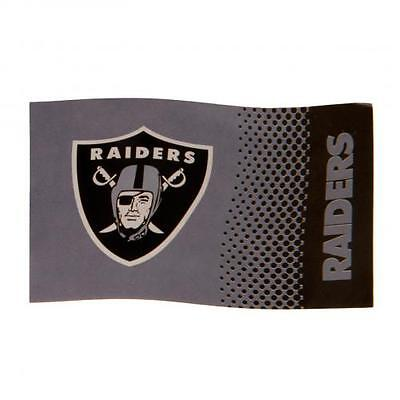 Oakland Raiders Large Supporters Flag 5ftx3ft 5x3' FD