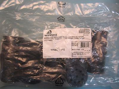 """Wireless Solutions - WSBC-1410 BC1410X - Barrel Cushions for 1/4"""" Coax for 1-5/8"""