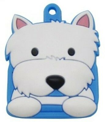 FouFou Dog Key Cover, Westie Terrier -#