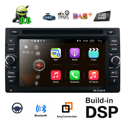 Android 2Din Car DVD Player GPS Navigator Auto Stereo Radio WiFi 3G+Rear Camera