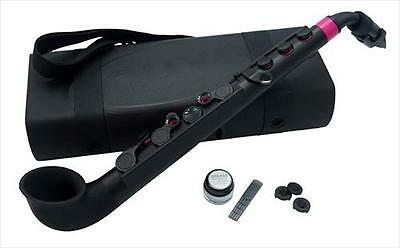 Nuvo jSax Student Saxophone BLACK With PINK Trim **NEW**