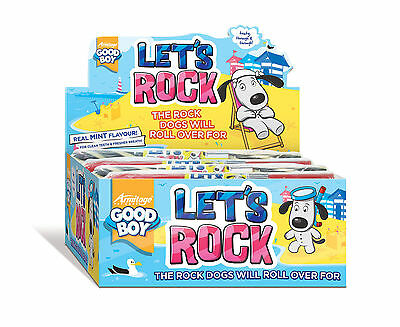 Goodboy Stick Of Rock Minty Dog Puppy Fresh Breath Treats Sweets  Chew Gift