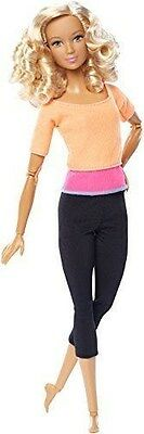Barbie Made to Move Doll, Orange Top