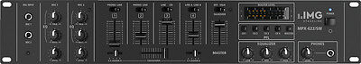 IMG Stage Line MPX- 622/SW 6-Kanal-Stereo-Audio-Mischpult