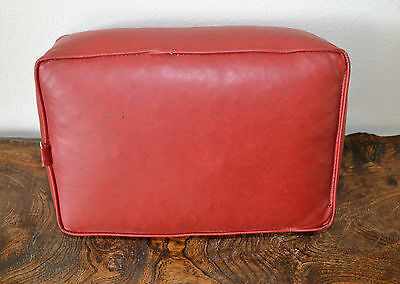 Vintage Church Kneeler Leather Prayer Cushions