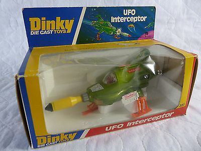 Dinky Toys 351 Ufo Interceptor - Space 1999 - Raumbasis Alpha  - superb in Box