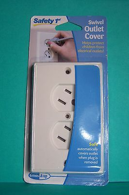 Safety 1st Swivel Outlet Cover 10401A  Safety 1st Outlet Cover