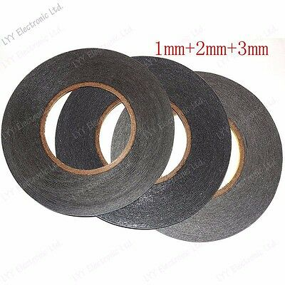 1mm 2mm 3mm black for 3M Sticker Double Sided Tape Adhesive cell phone repair