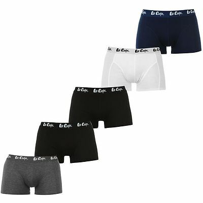 LEE COOPER lot 5 boxers shorties caleçons garcon