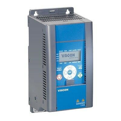 Vacon 20 series AC Inverter for 1.1kW (1.5HP) 230V 3 Phase motor