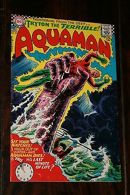 Aquaman #32 (Fn/vf 7.0) 1967; Early Ocean Master Appearance; W/ow Pages!