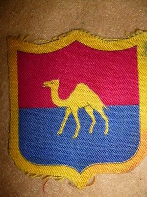 Formation Patch - Post WW2 G.H.Q. Middle East Land Forces Printed Patch