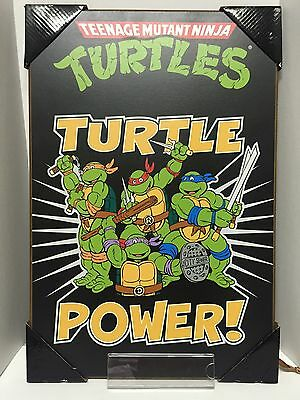 TMNT Teenage Mutant Ninja Turtle 13'' x 19'' Wood Wall Art by Silver Buffalo
