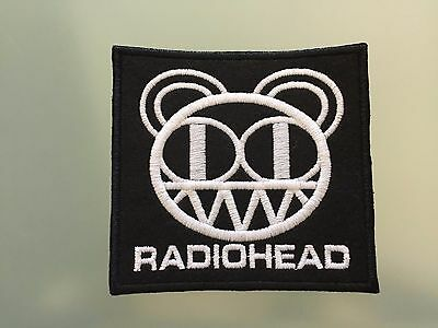 """RADIOHEAD LOGO - Embroidered Iron On Patch 3.5"""""""