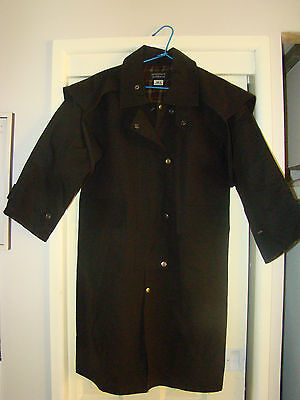 KIDS LONGREACH OIL SKIN COAT available in Size 14