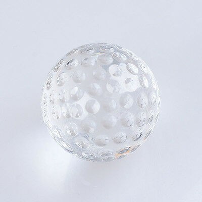 LONGWIN Crystal Golf Glass Golf Model for Home Decoration 30mm