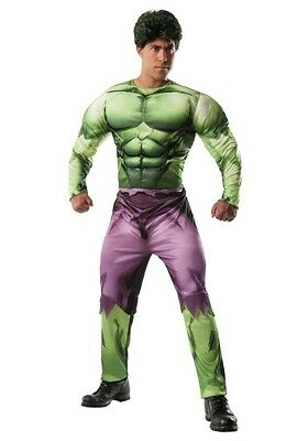 Adults Men Disney The Avenger Incredible Hulk cosplay Costume used