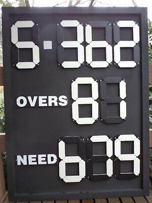 Portable Cricket Scoreboards