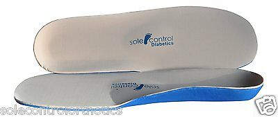 Sole Control Full Length Diabetic Super Soft Insoles