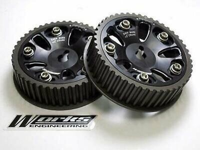 Works Engineering Cam Gear Pulley For Honda H22A DOHC Prelude BB1 BB6 BB8