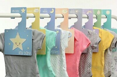 BABY WARDROBE DIVIDERS | Daydreams | Organise Baby's Clothes | Pk 8 Hangers