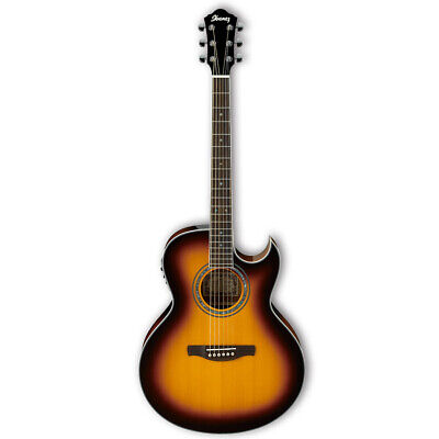 Ibanez JSA5 Joe Satriani Acoustic Electric Guitar - Vintage Burst , New!