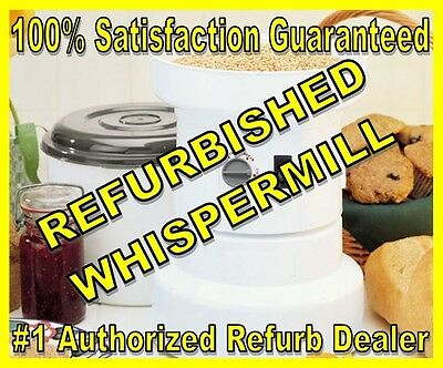 Refurbished WhisperMill 110V Electric WhisperMill Grain Mill - with Warranty