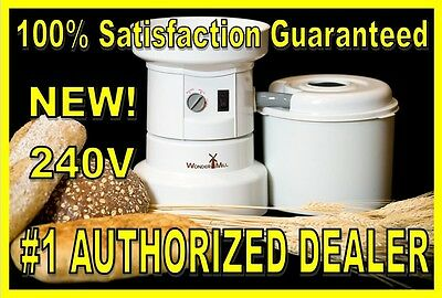 WonderMill 240v Electric GrainMill Wonder Grain Mill WhisperMill