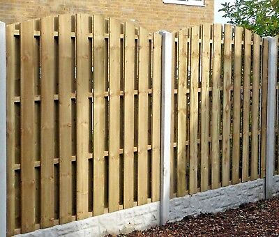 Hit & Miss Wind Proof Fence panels (FREE DELIVERY)