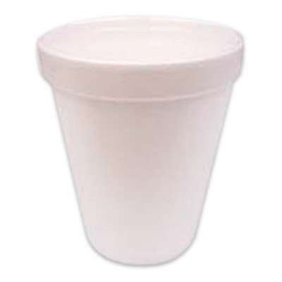 Universal Foam Cups Plain 8oz or 237ml 1000 Pieces per Carton