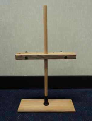 Funnel and Burette Wooden Stand, Base: 8.5 Length x 28 Width (cm)