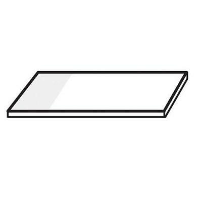 2 x Slides Frosted Glass 1 end, 1 side 76x50mm., 50 pieces per pack