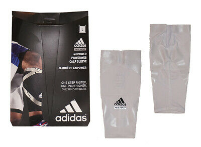 ce8b8cd7cb NEW Adidas Men's Techfit Basketball Powerweb Compression Calf Sleeve - White
