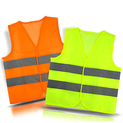 Safety Security Visibility Reflective Vest Construction Traffic/Warehouse