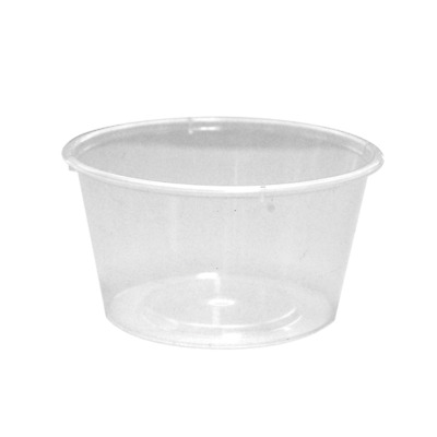 Round Plastic Take-Away Container 12oz/350ml 500 per Carton