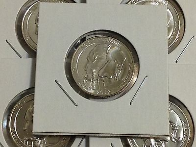 5 Coin Set BU 2013 All D Mount Rushmore National Park Washinton Quarters