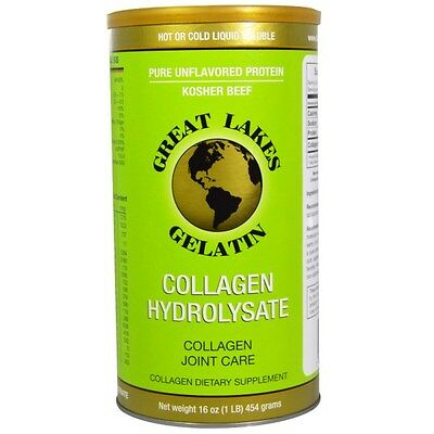Great Lakes Gelatin Co Collagen Hydrolysate Collagen Joint Care, Beef 454g
